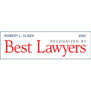 Bob Olsen Best Lawyers 2020